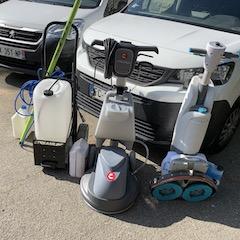 Materiel Mono-brosse Auto-laveuse Eau Pure pour chaque situation
